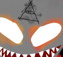 Demon of Corruption Sticker
