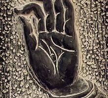 Vitarka Mudra Buddhist hand gesture art photo print by ArtNudePhotos