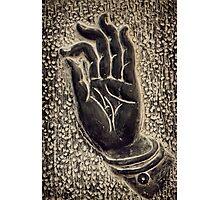 Vitarka Mudra Buddhist hand gesture art photo print Photographic Print