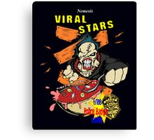 Nemesis Viral Stars Cereal Canvas Print