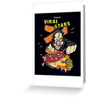 Nemesis Viral Stars Cereal Greeting Card