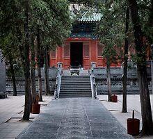 Mahavira Hall of the Shaolin Temple in DengFeng China art photo print by ArtNudePhotos