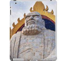 Bodhidharma statue on mount Song in DengFeng China art photo print iPad Case/Skin