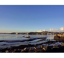 A Winter Afternoon in Instow Photographic Print