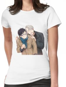 yuri on ice Womens Fitted T-Shirt