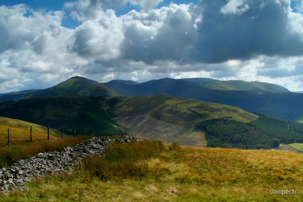 Lake District landscape by dompech