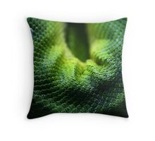 Snake Scales Throw Pillow