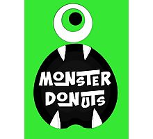 Monster Donut Photographic Print