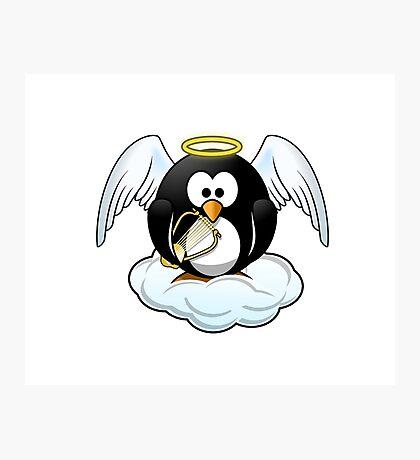 The Penguin Angel Photographic Print