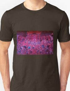 Artwork of Shaolin monks practicing in front of the Temple art photo print Unisex T-Shirt