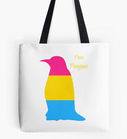 Pansexual 'Pan penguin' Tote Bag