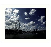 the thames Art Print