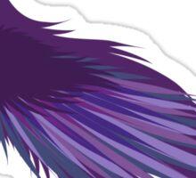 Purple hornbill Sticker
