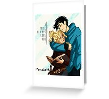 Percabeth for Life Greeting Card