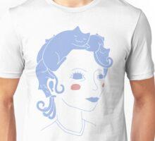 Cat Hair Girl Unisex T-Shirt