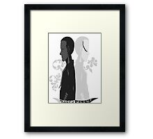 Two Sides. Framed Print