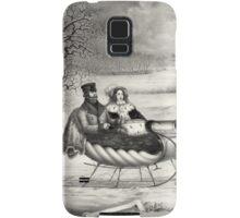 Sleigh Ride in a Winter Wonderland Samsung Galaxy Case/Skin