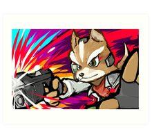 Fox | Blaster Shot Art Print