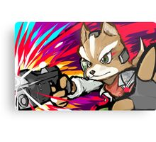 Fox | Blaster Shot Metal Print