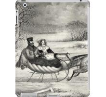 Sleigh Ride in a Winter Wonderland iPad Case/Skin