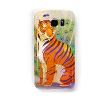 Peacock Tiger Samsung Galaxy Case/Skin