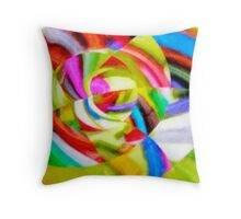 Colored Markers 2 Throw Pillow