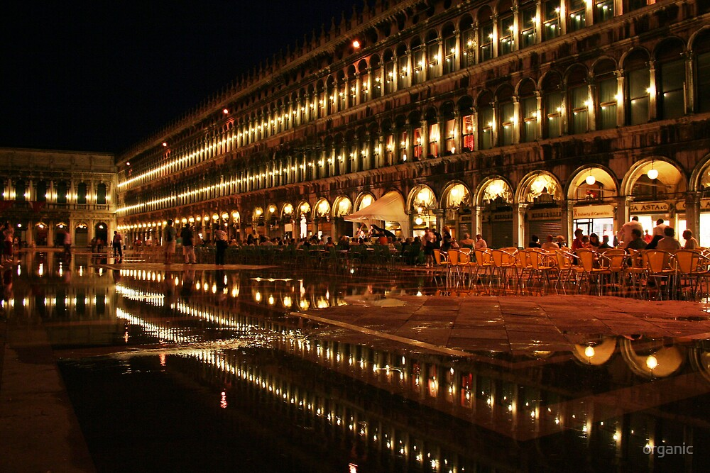 St. Marks Square at Night/Venice, Italy by organic