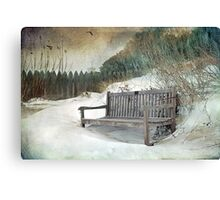 Sanctuary in White Canvas Print