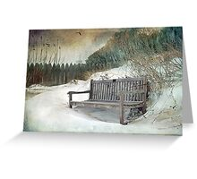 Sanctuary in White Greeting Card