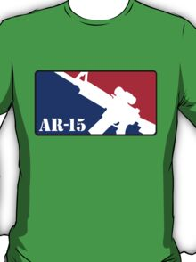 AR15 Red White and Blue T-Shirt