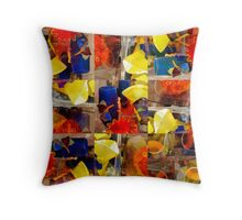 Colored Glass Throw Pillow