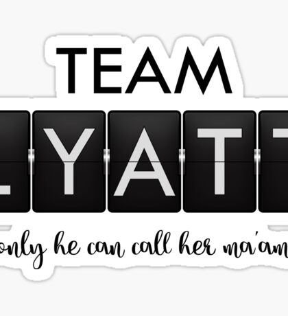 Timeless - Team Lyatt Sticker