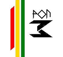 DJ Pon-3: Rasta Logo by holycrow