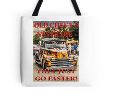 Old Chevys Never Die Tote Bag
