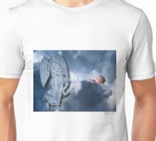 °♥ ˚ • ★FOR UNTO US A CHILD IS BORN>AVAILABLE AS PICTURE -CARD OR TRAVEL MUG °♥ ˚ • ★ Unisex T-Shirt