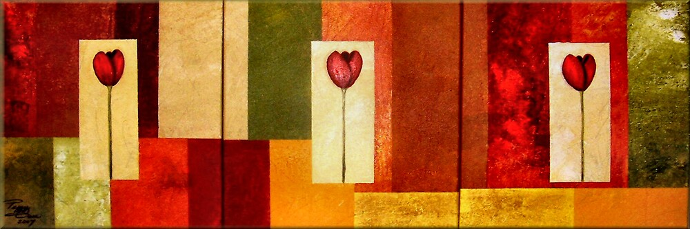 Tantalizing Tulips by Peggy Garr
