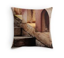 Stone Stairway Throw Pillow
