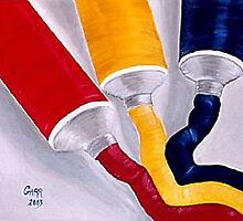 Primary Colors by Peggy Garr