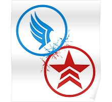 Mass Effect Renegade and Paragon Poster