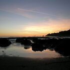 Anchor Bay Sunset by brinadragonfly