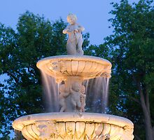 Meyers Circle Fountain by Chuck Doss