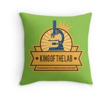 Jeffersonian's King of the Lab! Throw Pillow