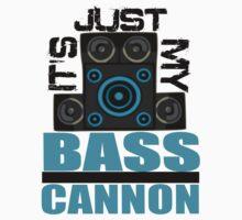 DJ Pon-3: Bass Cannon Kids Tee