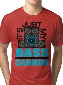 DJ Pon-3: Bass Cannon Tri-blend T-Shirt