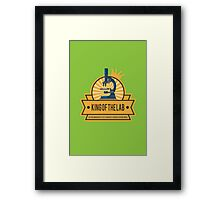 Jeffersonian's King of the Lab! Framed Print