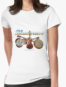 Bluegrass Womens Fitted T-Shirt