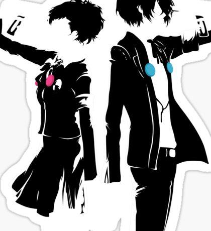 Persona 3 Art Vector Sticker