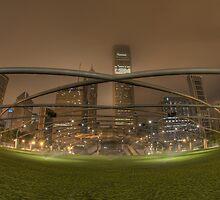 Jay Pritzker Pavilion by Chuck Doss