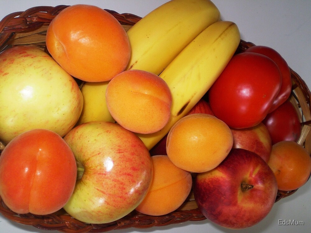 Fresh Fruit - on my bench by EdsMum