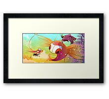 11. Lookout!: Fallen Flight Framed Print